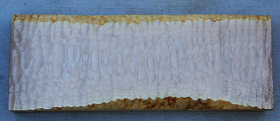 Quilted Maple Used for Guitar Construction