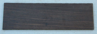 Wenge Used for Guitar Construction