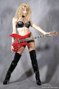 Gabriella Versace With Guitars