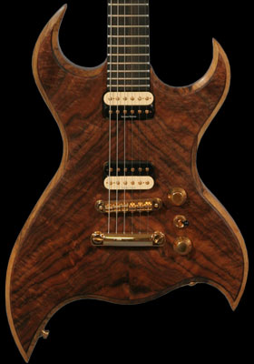 Bertram Monarch Custom Guitar