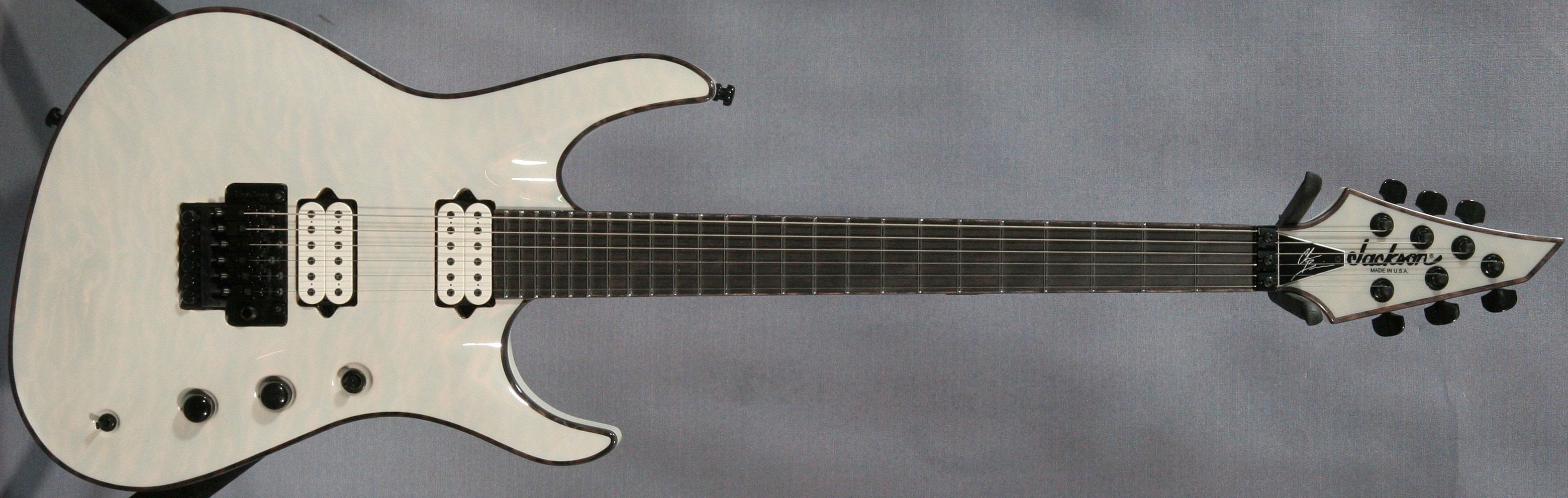 Neck Through Body Guitar Examples