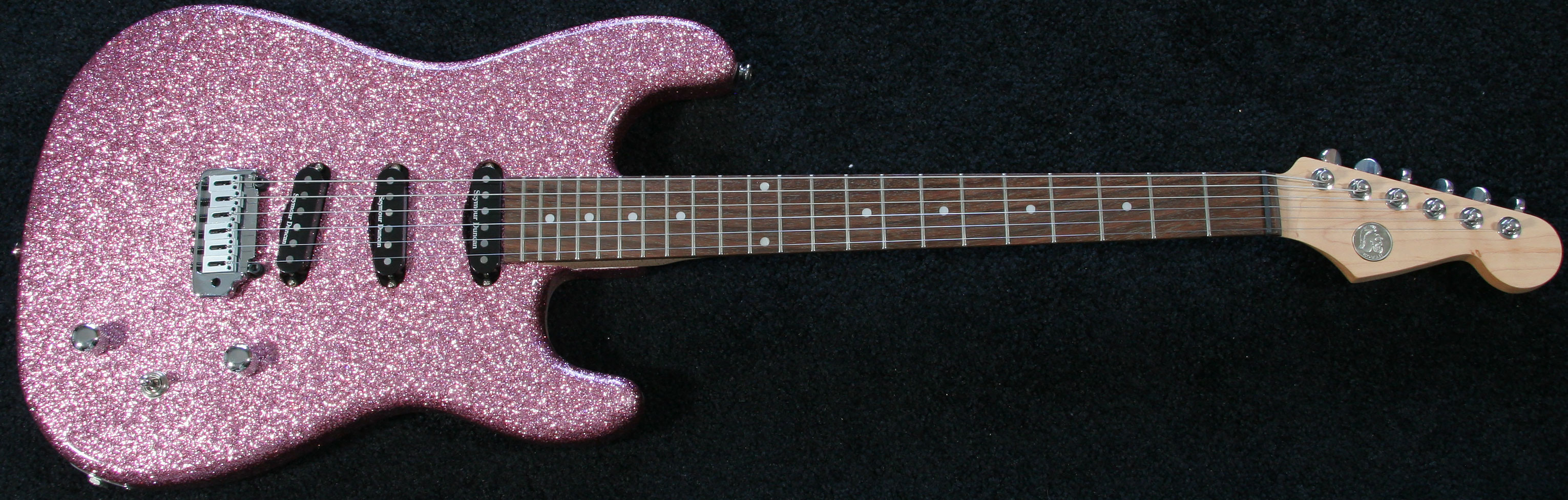 Pink Guitars Pink Colored Guitars Pink Stained Guitars